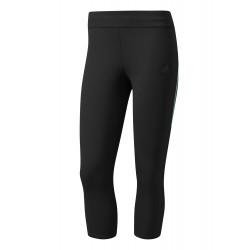 Collant Adidas Tight Response 3/4 Noir /Clear Aqua
