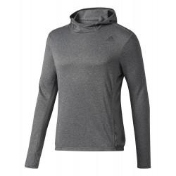 Sweat à Capuche Adidas Response Grey