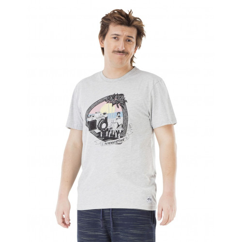 Tee-shirt Picture Organic Sunset Grey Melange