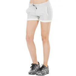 Short Picture Organic Slasher Lace Grey Melange