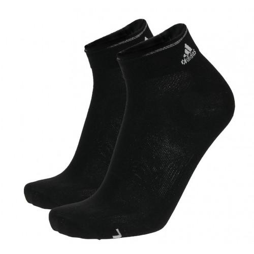 2 Paires de Chaussettes Adidas Running Light Black