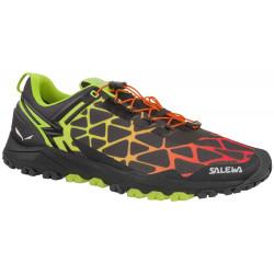 Chaussures Salewa Ms Multi Track Black/Cactus
