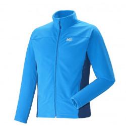 Polaire Millet Vector Grid Jacket Electric Blue