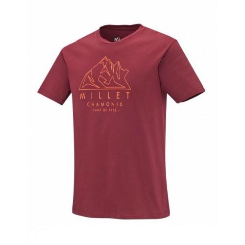 T-shirt Millet Aiguilles Burgundy