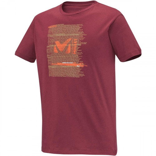 T-shirt Millet Be Bold Burgundy