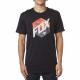 T-shirt Fox Kasted Ss Tee Black