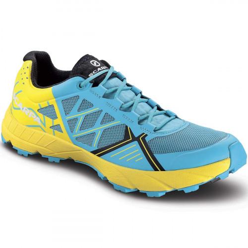 Chaussures de Trail Scarpa Spin Scuba Blue Lemon