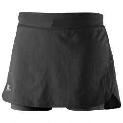 Jupe-short Salomon Agile Skort Black