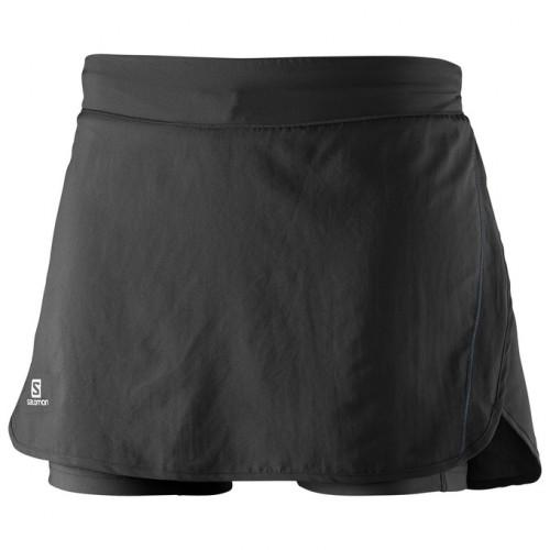 Jupe-short Salomon Agile Skort Black