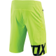Short de Vtt Fox Attack Flo Yellow