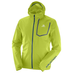 Blouson Salomon Bonatti Pro Wp Lime Green