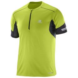 Tee-shirt Salomon Agile Hz SS Lime Green