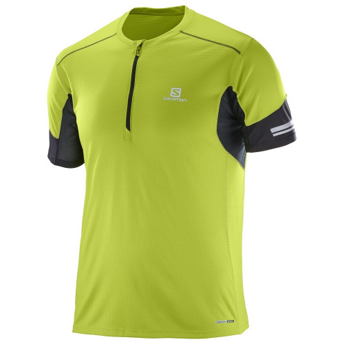 Tee-shirt Salomon Agile Hz SS Lime Green