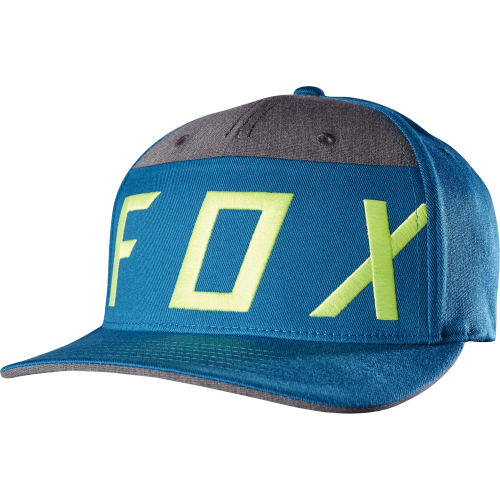 Casquette Fox Moth Splice Flexfit Blue