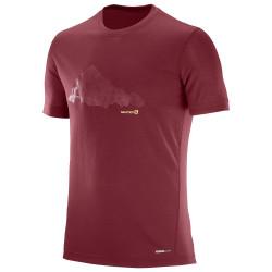 T-shirt Salomon Explore Graphic Sun Dry Tomato
