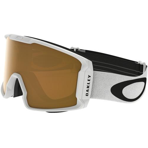 Masque de ski Oakley LineMiner Matte White Persimmon