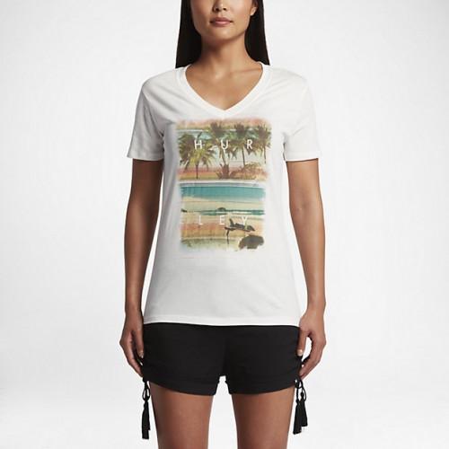 T-shirt Hurley Lakey Peterson Perfect V Sail