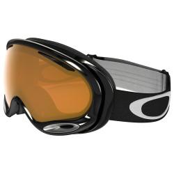 Masque De Ski Oakley A Frame 2.0 Jet Black Persimmon
