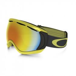 Masque De Ski Oakley Canopy Citrus Iron Fire Iridium