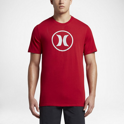 T-shirt Hurley Circle Icon Dri-fit Gym Red