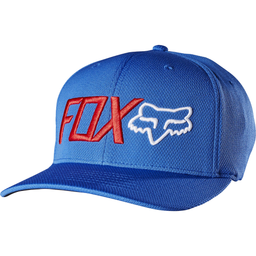 Casquette Fox Trenches Flexfit Blue