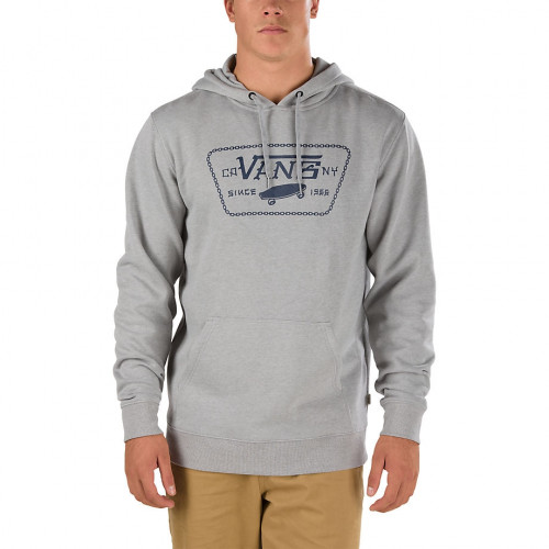 Sweat Vans Mn Full Chain Po Concrete Heather