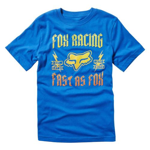 T-shirt Fox Youth Ruppe Ss Tee True Blue