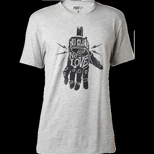 T-shirt Fox Lifer Ss Premium Heather Grey