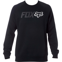 Sweat Fox Legacy Crew Fleece Black