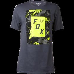 T-shirt Fox Slasher Box Ss Premium Tee Black