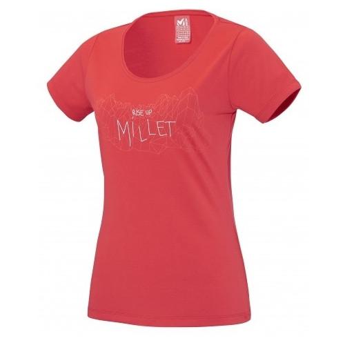 T-shirt Millet Ld Borah Peak Ts Ss Hibiscus