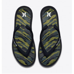 Tongs Hurley One Only Printed Sandal Black Camo