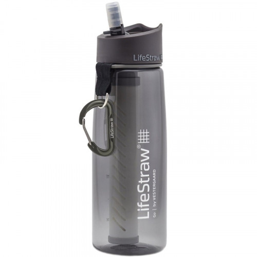 Gourde Lifestraw Go 2-Stages Filtration Grey
