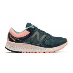 Baskets De Running New Balance W1080 V7 Blue/Pink