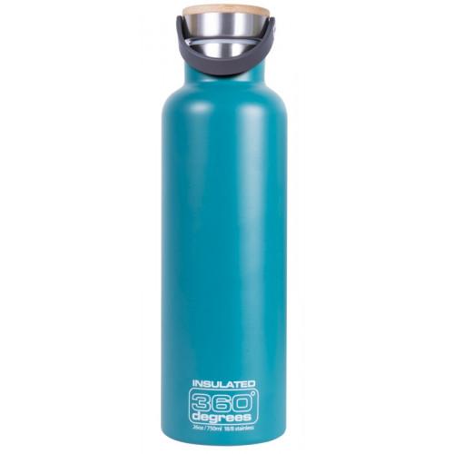 Gourde Thermos 360 Degrees Vacuum Insul 750ml Teal