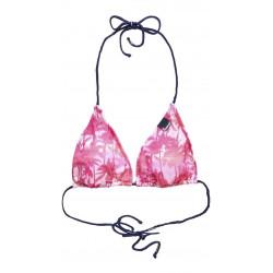 Haut De Maillot Superdry Mermaid Palm Tri Pa Pink