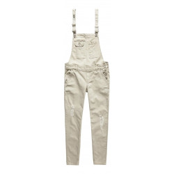 Salopette Superdry Lucy Dungaree Stone