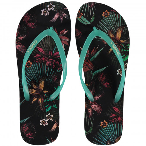 Tongs O'Neill Printed Flip Flop Black Aop