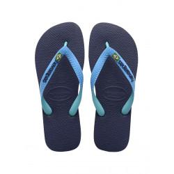 Tong Havaianas Hav Brasil Mix Navy Blue/Turquoise