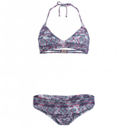 Maillot De Bain O'neill Print Crossover Bikini Blue