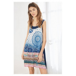 Robe Desigual Beachdress Exotic Jeans