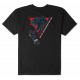 T-Shirt Etnies Retro Panther Black