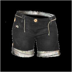 Short Abk Calvi Stone Black