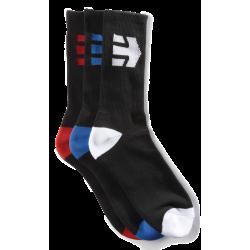 Chaussettes Etnies Direct Sock Black