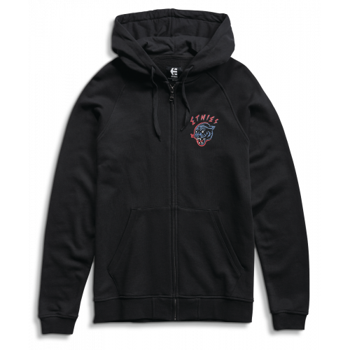 Sweat A Capuche Etnies Pounce Zip Fleece Black