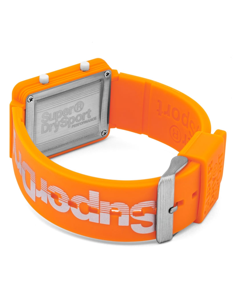 Gym Sprint Montre Superdry Lcd Orange hrtdCQs