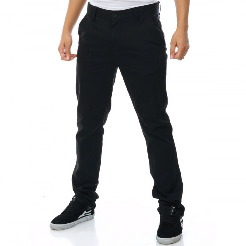 Pantalon Etnies E1 Slim Chino Black