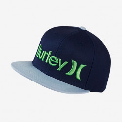 Casquette Hurley One&only Washed Electro Green