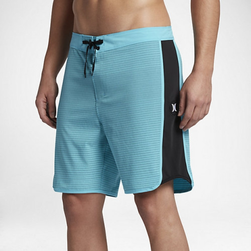 Boardshort Hurley Phantom Motion Stripe Chlorine Blue