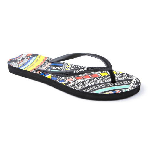 Tongs Rip Curl Tribal Myth Black Black